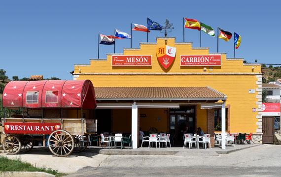 Mesón Carrión restaurante Alora