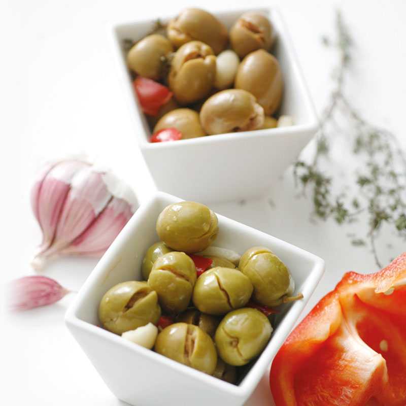 Ecological Manzanilla Aloreña olives